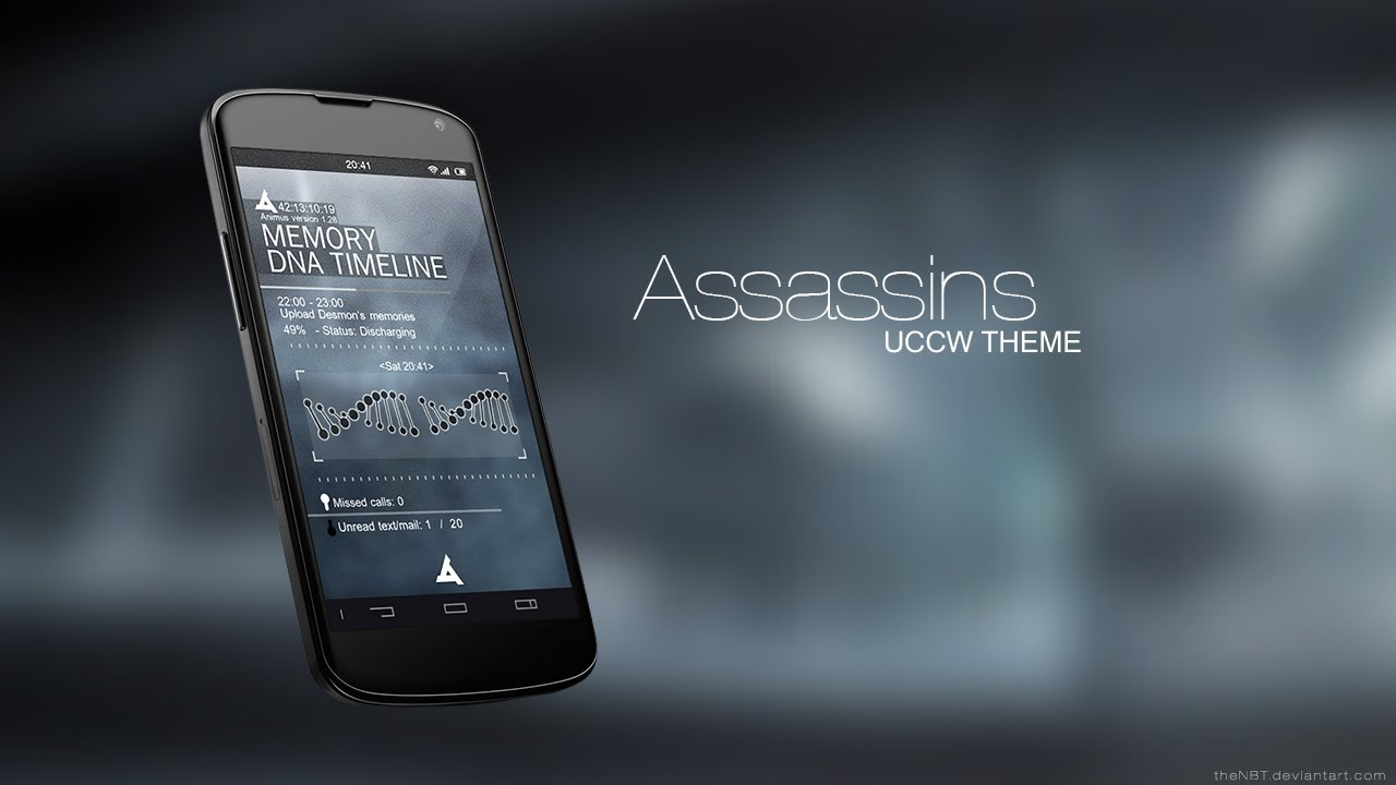 Assassins Theme - Tutorial (Android) - YouTube
