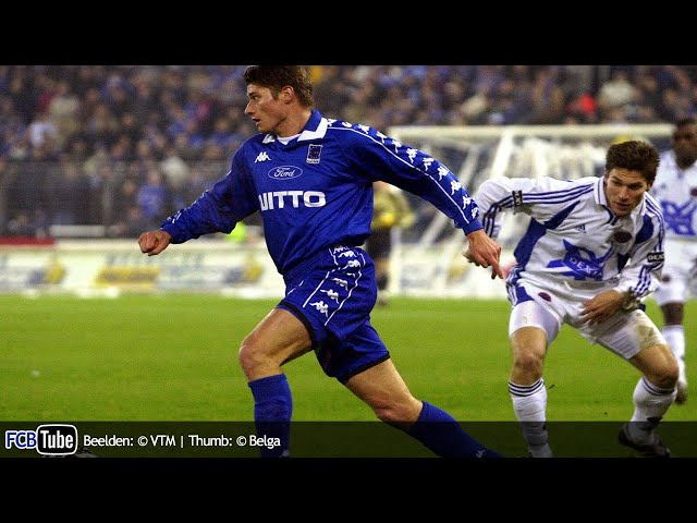 2000-2001 - Jupiler Pro League - 17. Racing Genk - Club Brugge 0-1
