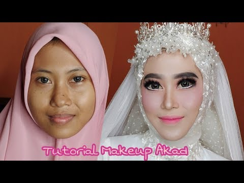 Tutorial Makeup akad | vlog wedding job #2