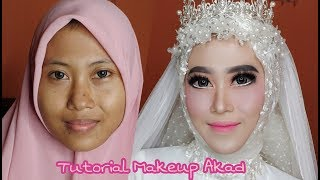 Tutorial Makeup akad | vlog wedding job #2