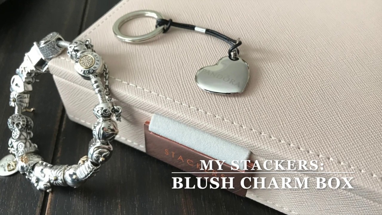 af49b9c9b My Pandora Bracelet and Stackers Charm Box - YouTube