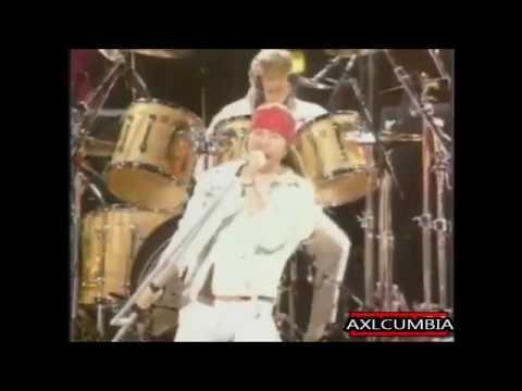 Axl Rose y Queen cumbia