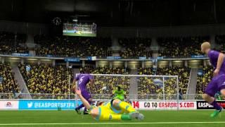 Diekmaier (Napoli 4-1 Fiorentina) Career season №7 FIFA 14