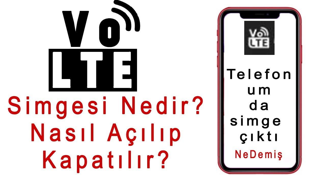 Telefonda Volte Simgesi Nedir? Nasıl Kapatılır?