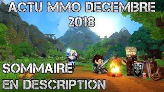 ACTUALITÉS MMORPG ET FREE TO PLAY NOUVEAUTÉS DECEMBRE 2018 (Atlas, Hytale, Astellia)