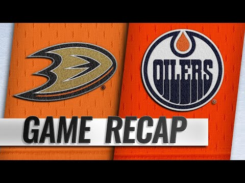 Currie, Koskinen lead Oilers to 2-1 win against Ducks