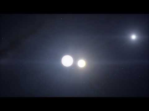SpaceEngine 0.973 - Algol star system