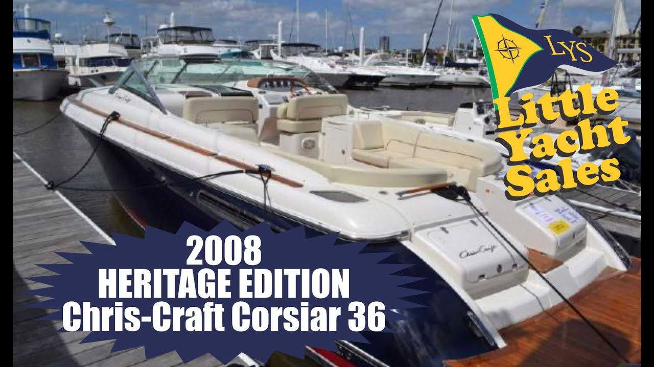 Sold 2008 Chris Craft Corsair 36 Express Cruiser At