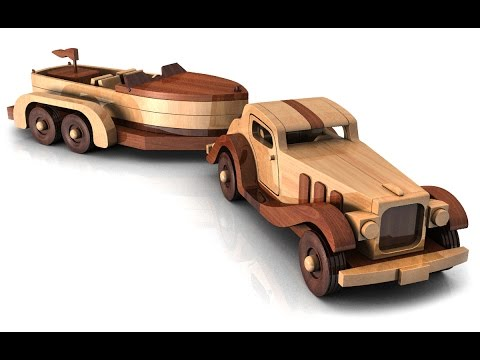 Wood Toy Plans Floating Chris Craft 1934 Jaguar Youtube