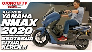 Full Review! Yamaha All New NMAX 155 Connected  ABS, Speedonya Connect ke Hape! l GridOto