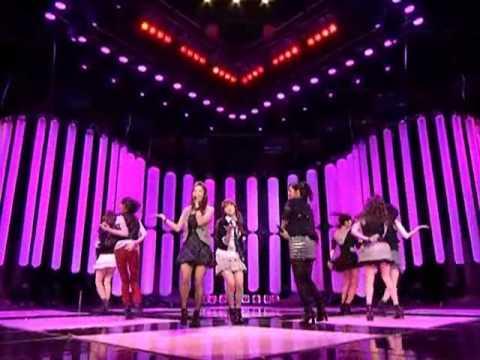 SNSD - Way to go (소녀시대 - 힘내!) @ SBS Inkigayo 인기가요 20090315