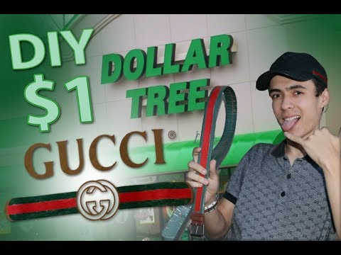 18d4e932876 DIY Dollar Store GUCCI BELT!!! (EASY) - YouTube