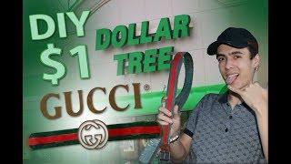 diy dollar store gucci belt easy