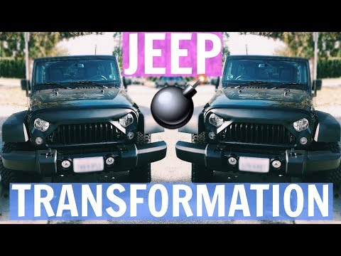 Transforming My Jeep | Gladiator Grille Install