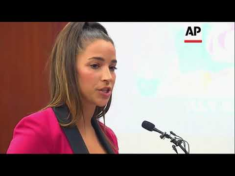 Gold medal champion Aly Raisman and dozens of other women who spoke out about sexual abuse will rece