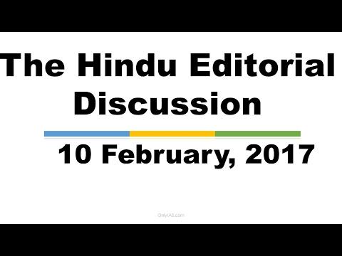 Hindi,10 February, 2017, The Hindu Editorial Discussion, Monetary Policy, Good Samaritans