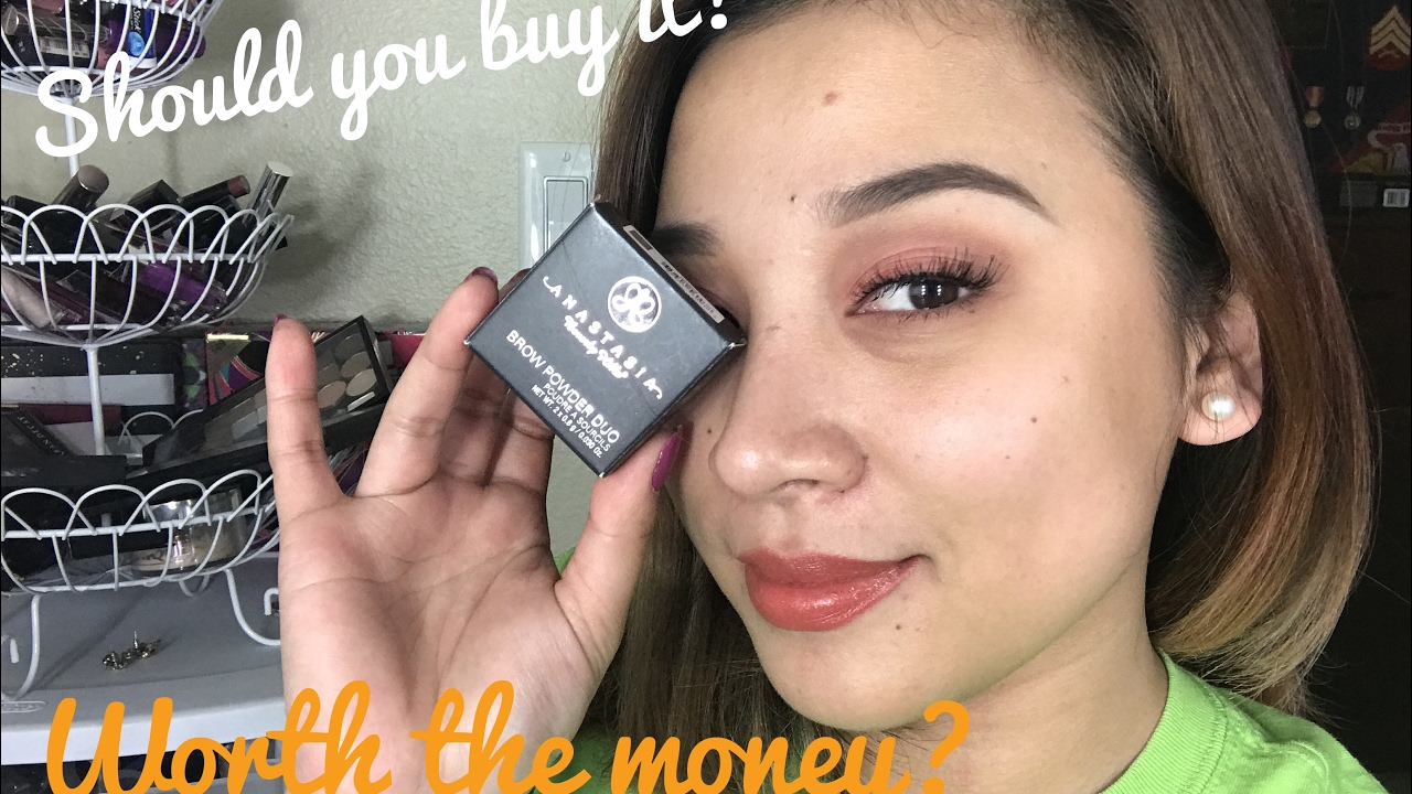 Anastasia Beverly Hills Eyebrow Powder Duo Review Youtube
