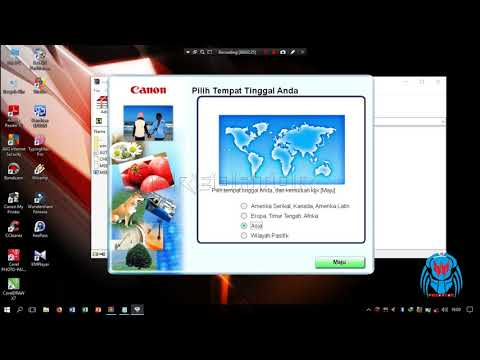 Install Driver Canon Scan Lide 110 #tutorial