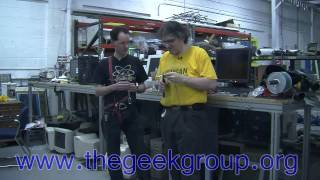 Newton's Cradle Cabling Day