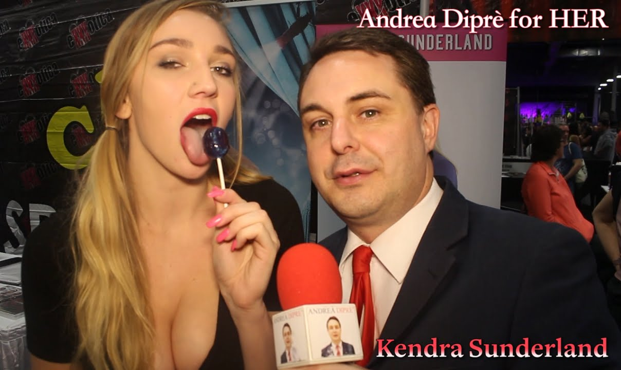 Kendra Sunderland Gives A Blowjob Lesson For Andrea Dipr - Youtube-9071
