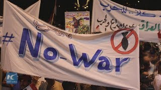 Supporters of Iraqi Shiite cleric rally against possible U.S.-Iran war