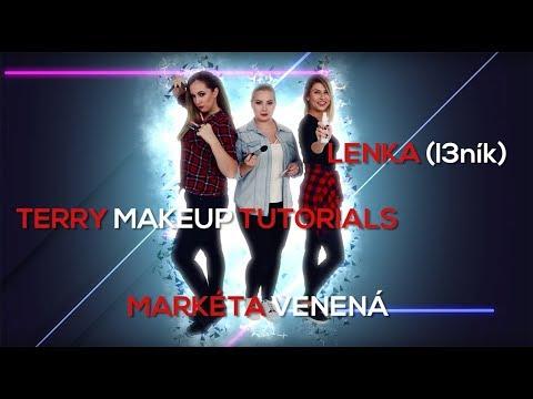 Rimmel Challenge - From Natural To Edgy #2 Terry MakeupTutorials, Markéta Venená, Lenka