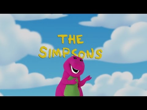 Barney & Friends References in The Simpsons