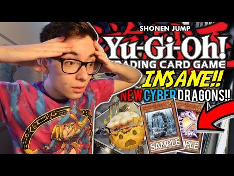 Yu-Gi-Oh! NEW CRAZY Cyber Dragon Monsters!! How Good Are They?!