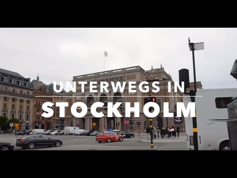 unterwegs in Stockholm
