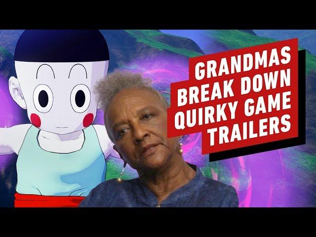Grandmas Break Down Quirky Game Trailers (Death Stranding, Dragon Ball Z: Kakarot, & More)