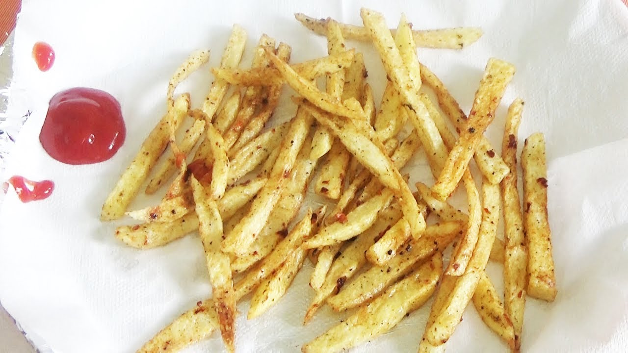 French Fries Recipe In Telugu How To Cook French Fries At Home