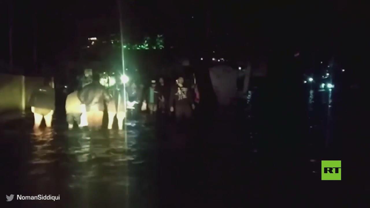 فيديو يظهر فيضانات عارمة في مدينة هندية  - نشر قبل 44 دقيقة