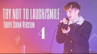 gay? gay. | TRY NOT TO LAUGH/SMILE - Troye Sivan Version #4