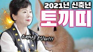 2021년 신축년 토끼띠 운세 대공개 [ 99년생 87년생 75년생 63년생 ] 주변사람을 조심하라!!