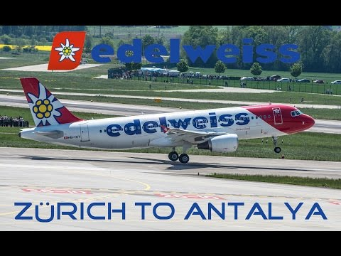 Edelweiss Flight Report Zürich to Antalya | WK176 | Economy class | A320 |