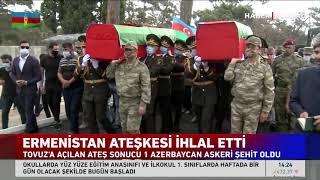 Bir Ermeni Provokasyonu Daha! Ateşkesi İhlal Etti! Tovuz'a Ateş Açtı, 1 Azerbaycan Askeri Şehit!