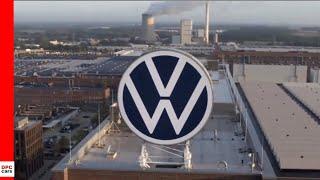 VW New Brand Design Logo Reveal at Volkswagen Plant Wolfsburg