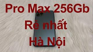 Bán iPhone 11 Pro Max 256Gb cũ giá rẻ - Đẹp 99%, rẻ nhất Hà Nội [MRZIN.VN]