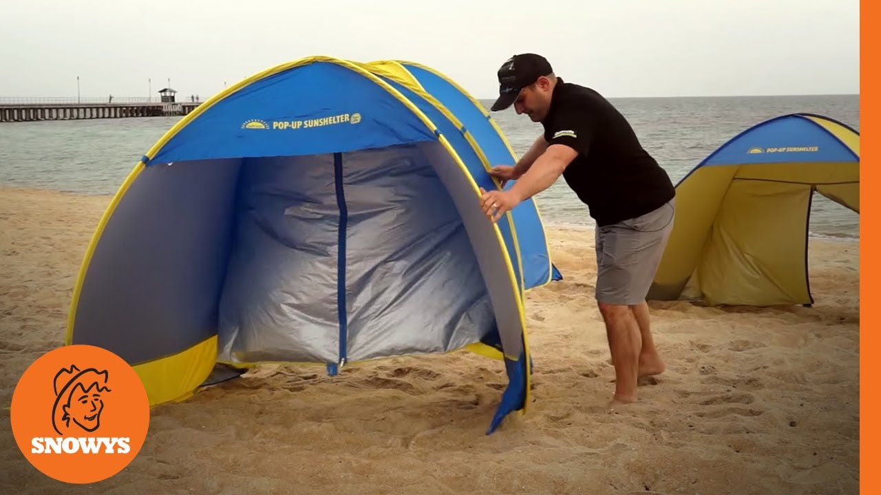 & EPE Smart Shade Sun Shelter - YouTube