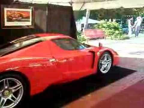 Ferrari Enzo Leaving Nuias 2007 Youtube