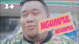 Chart Lagu Indonesia - INDO CHART 30  (8-14 FEBRUARI 2016)