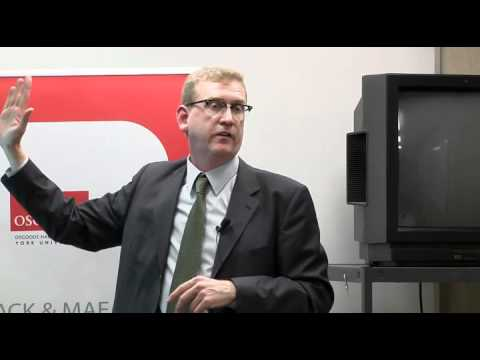 Peer Zumbansen on Transnational Law and Legal Pluralism: Methodological Challenges (Oct 8, 2010)