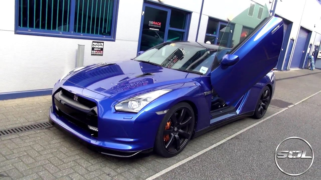 Rare Lambo Door Nissan Gt R R35 Fitted W Armytrix