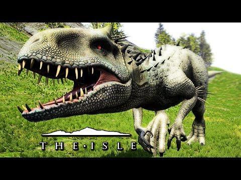 The Isle - INDOMINUS REX MOD, ACTIVE CAMO SKILL, SUB-TISSO ABILITY & MAP CHANGES ( Gameplay )