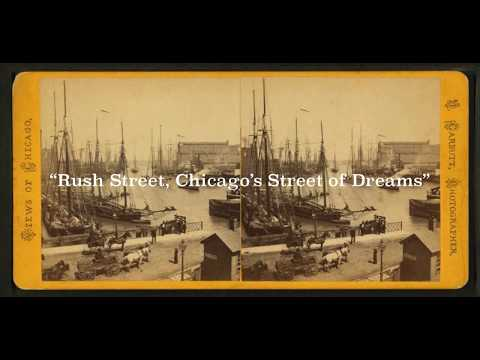 Vintage Rush Street, Chicago, Illinois