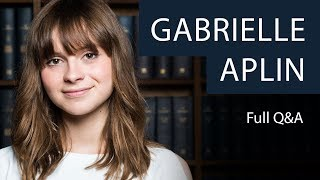 Gabrielle Aplin | Full Q&A | Oxford Union