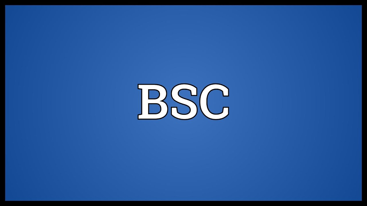 bsc meaning bsc meaning