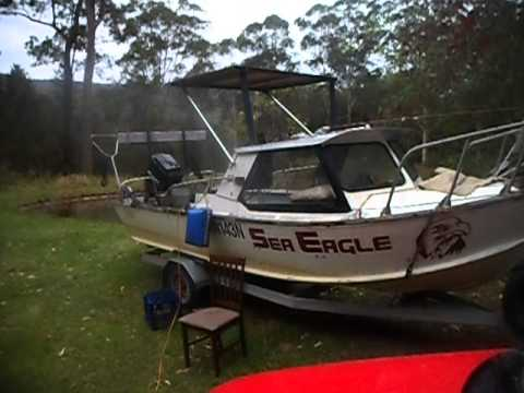 make a cheap boat aluminium hardtop DIY Part 5 - YouTube