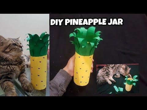 DIY PINEAPPLE JAR/Easy to make