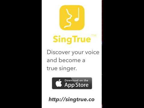 Learn to Sing with new SingTrue iPhone app